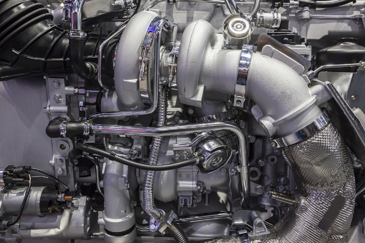 Działanie turbosprężarki